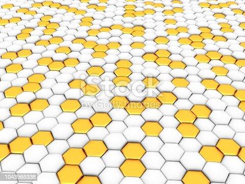 1053870408istockphoto Gold honeycomb 1043565338
