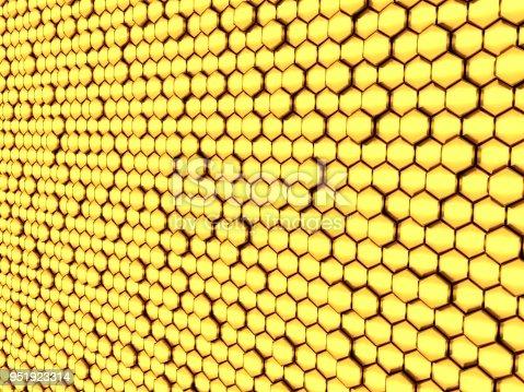 1053870408istockphoto Gold honeycomb 951923314