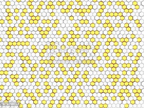 165853308istockphoto Gold honeycomb 979146274