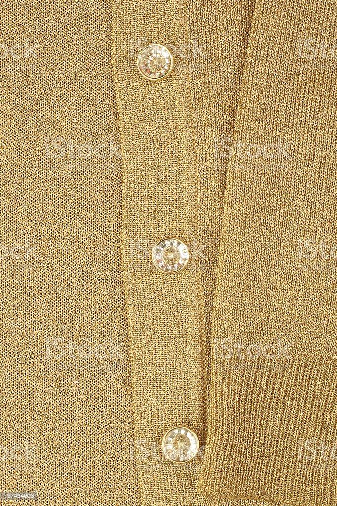 Gold jacket royalty-free stock photo