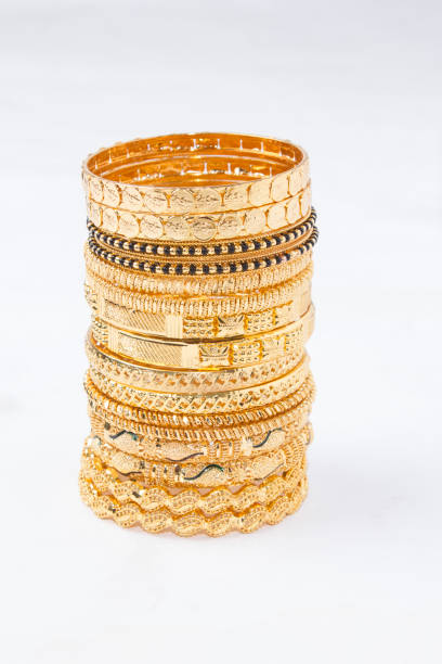 gold jewellry stock photo