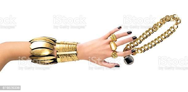 Gold Jewelry-foton och fler bilder på Armband