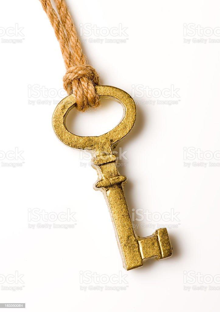 Gold Key royaltyfri bildbanksbilder