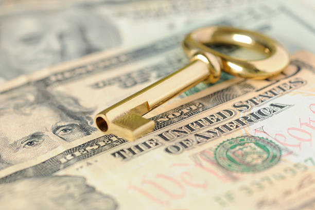 Gold Key to Success over United States Dollars in Cash