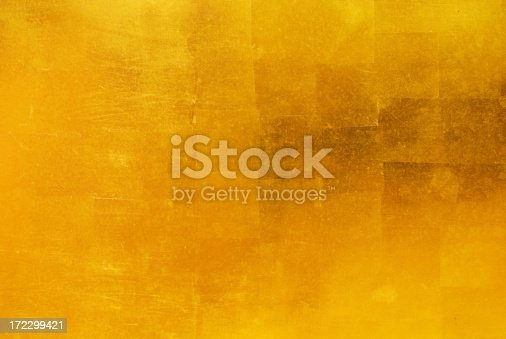 istock Gold Leaf Background 172299421