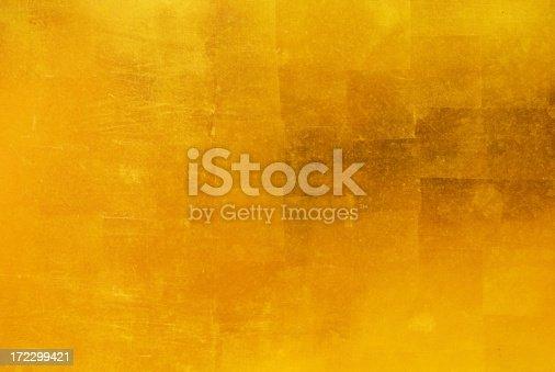 istock Gold Leaf Background 172299421