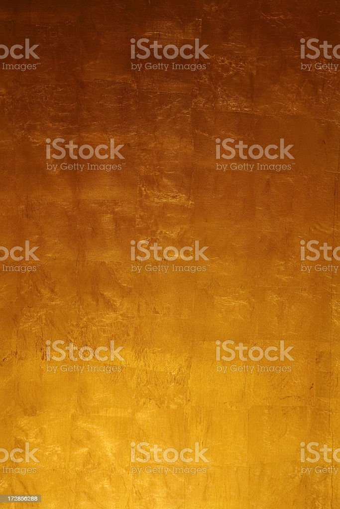 Gold Leaf Background royalty-free stock photo