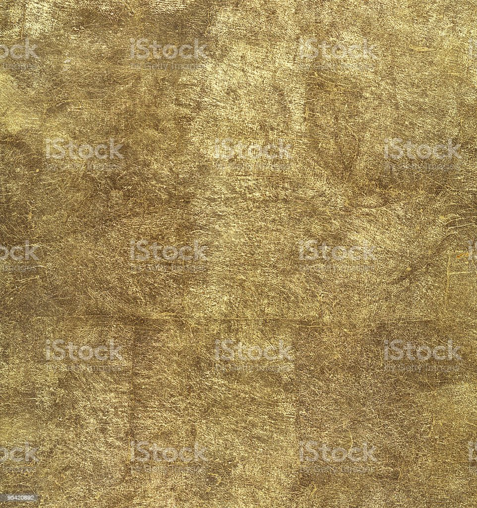 Gold Leaf Background royalty-free stock photo