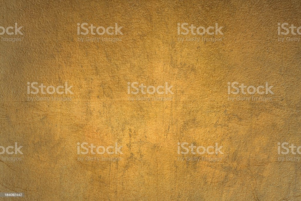 Gold Leaf Grunge Background Texture royalty-free stock photo