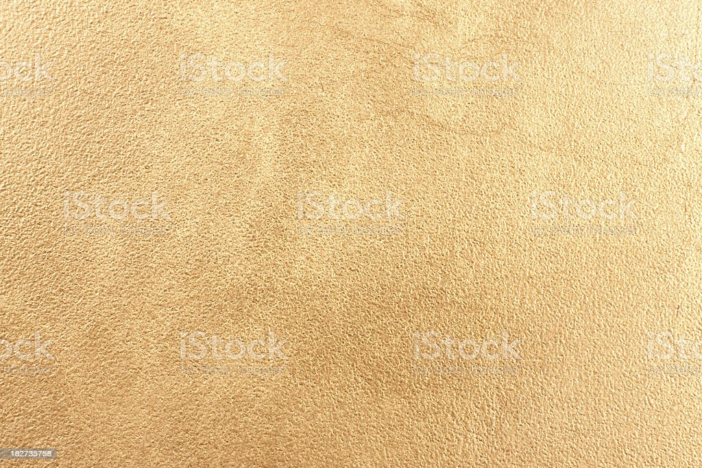 Gold Leaf Texture royalty-free stock photo