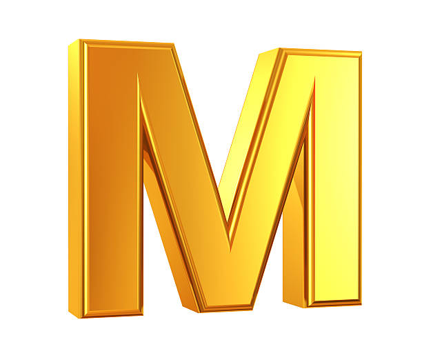 03697267467630 Top 60 Gold Alphabet Letter M Stock Photos, Pictures, and Images ...