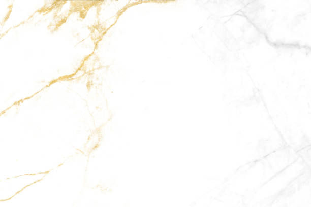 gold line mineral and gray granite white marble luxury interior texture stock photo