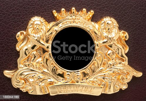 96679072istockphoto Gold Lion Crest 155344185