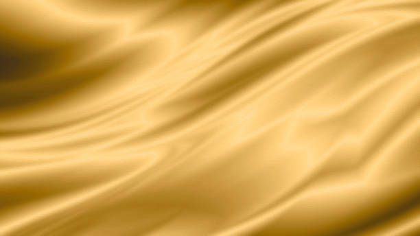 goud luxe stof achtergrond met kopieerruimte - textiel stockfoto's en -beelden