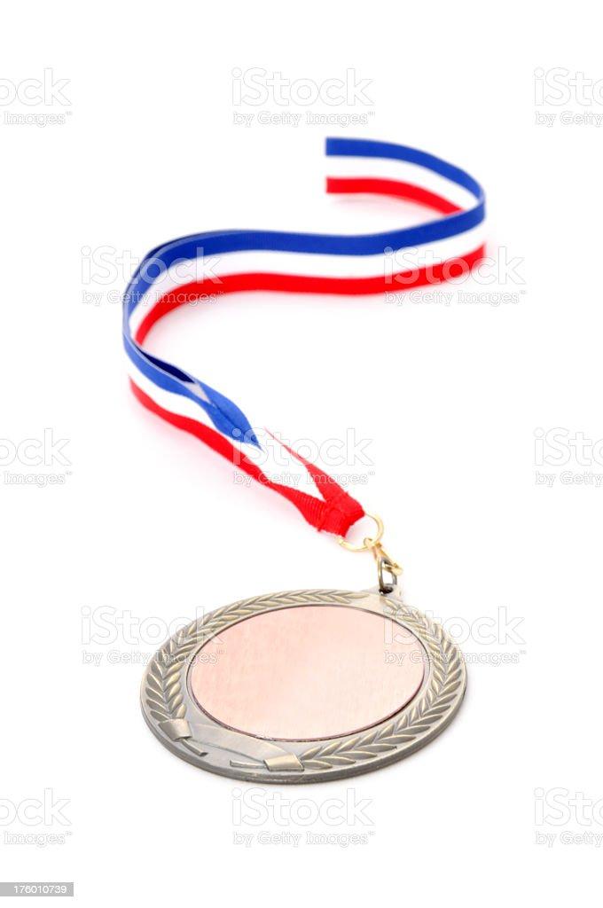 Gold Medal Award royalty-free stock photo
