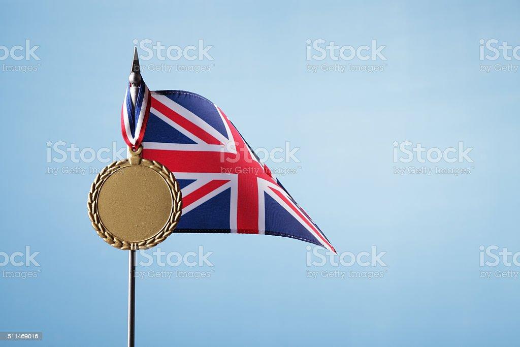 Gold Medal for UK stock photo