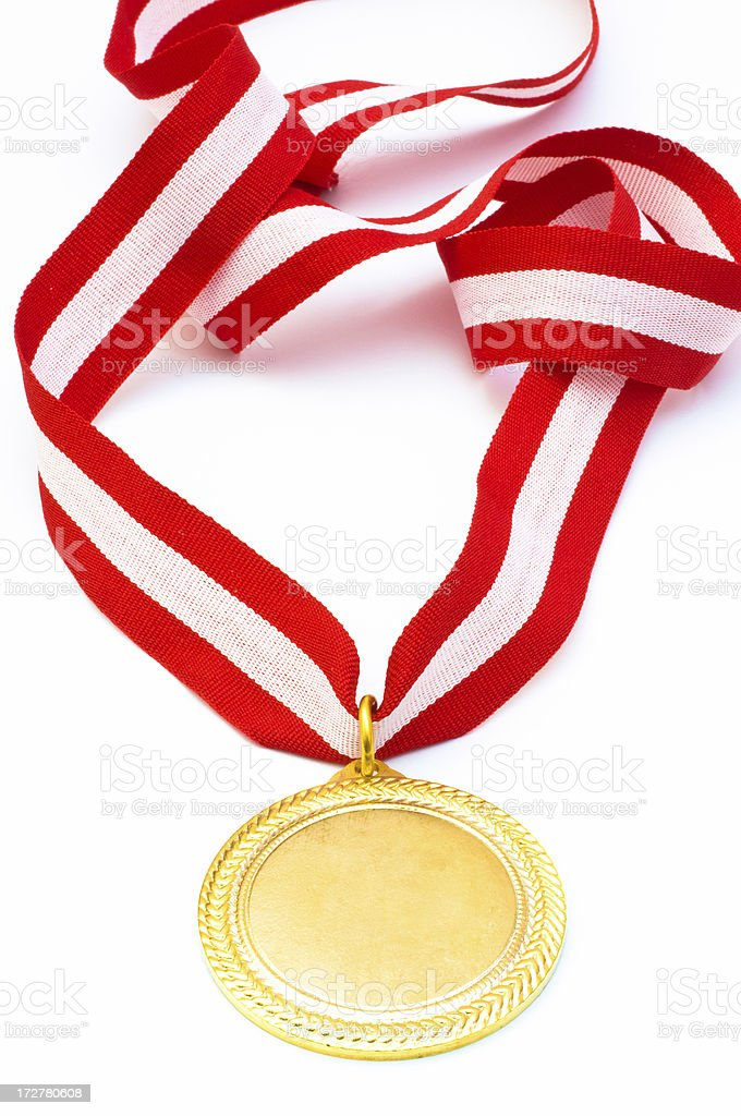 Gold Medal royalty-free stock photo