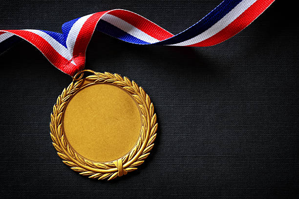 . gold medal - 2015 stock pictures, royalty-free photos & images