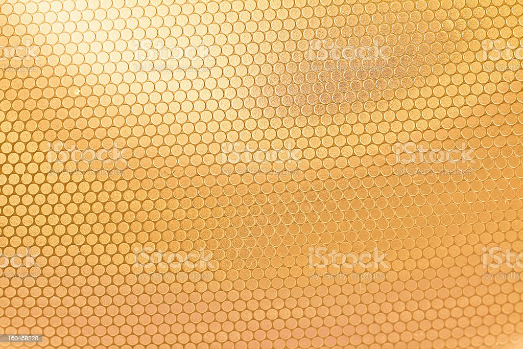 gold Mesh royalty-free stock photo