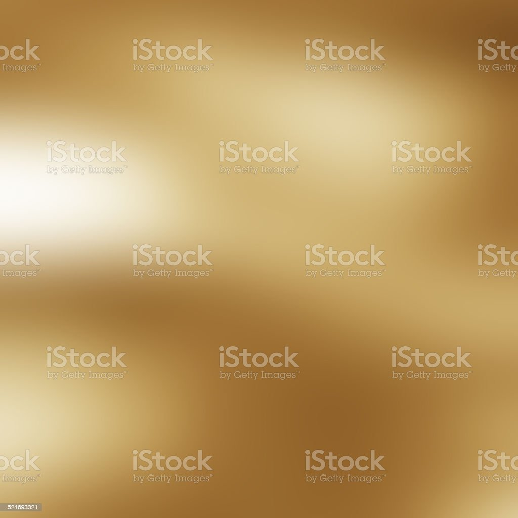 gold metal plate texture with some reflection in it stock photo