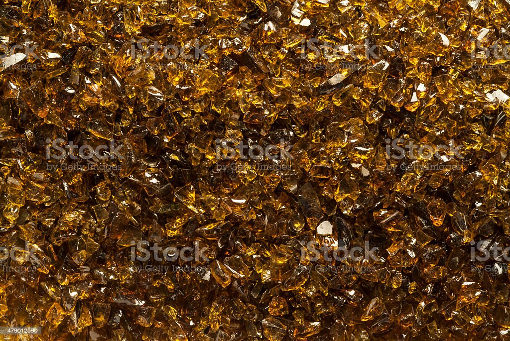 Gold mica texture stock photo