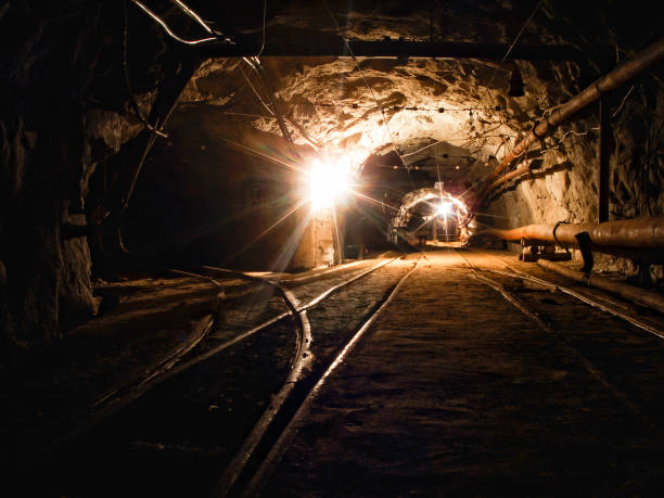 gold mine - gold mine stock photos and pictures