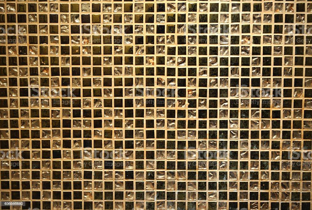 Mosaico piastrelle sfondo texture oro fotografie stock e altre