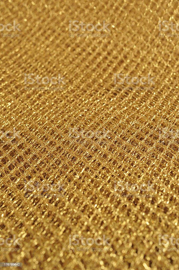 Gold net background royalty-free stock photo