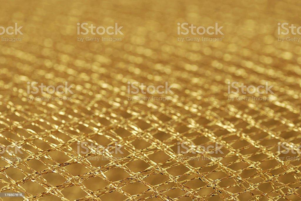 Gold net royalty-free stock photo