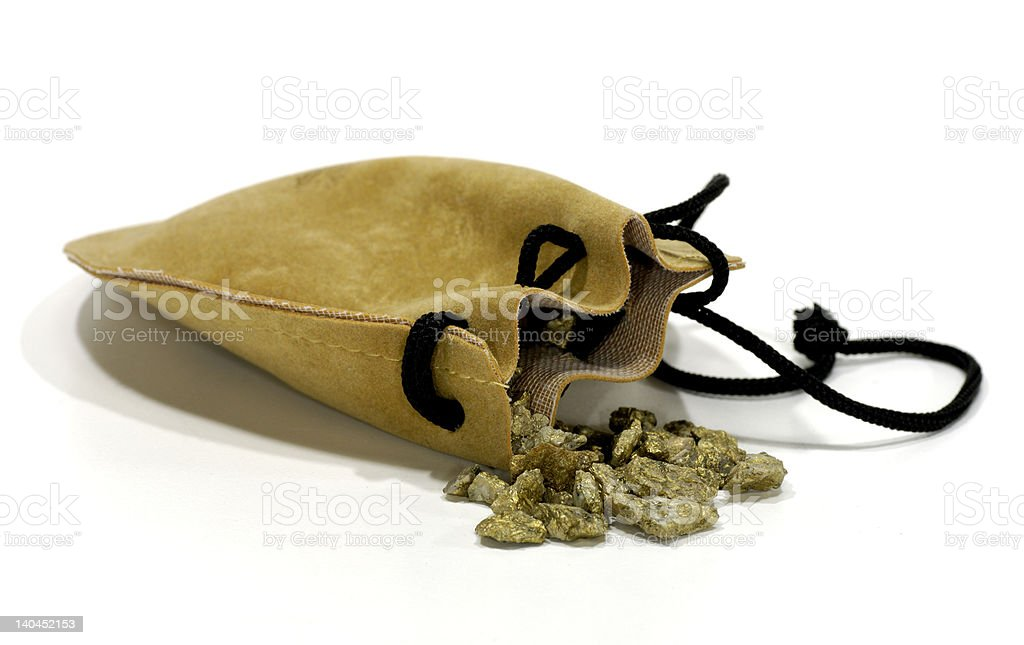 Gold Nuggets royalty-free stock photo