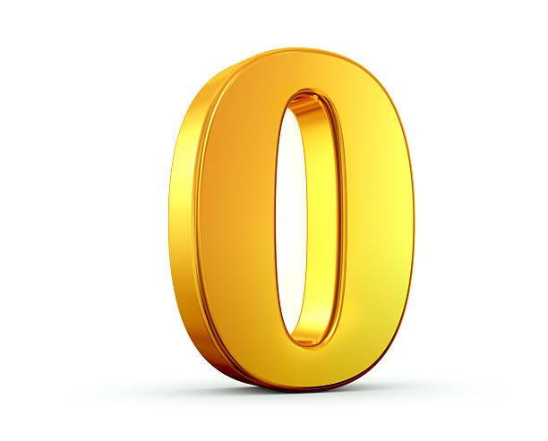 gold number 0 - zero stock pictures, royalty-free photos & images