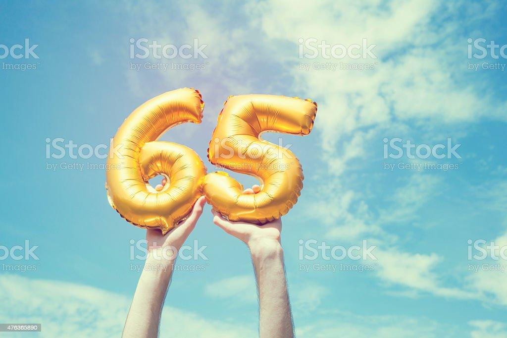 Ballon or Nombre 65 - Photo