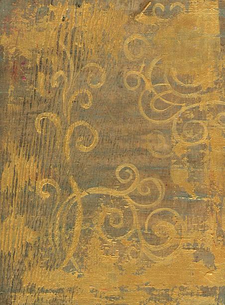 or sur bois - motif ornemental photos et images de collection