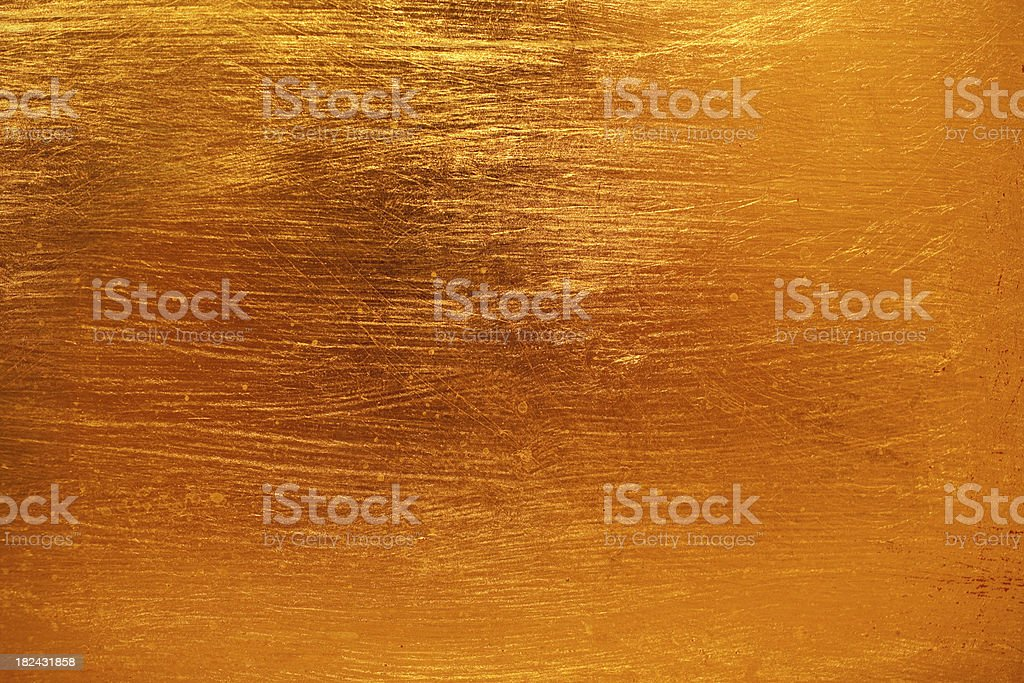 Gold Orange Texture stock photo