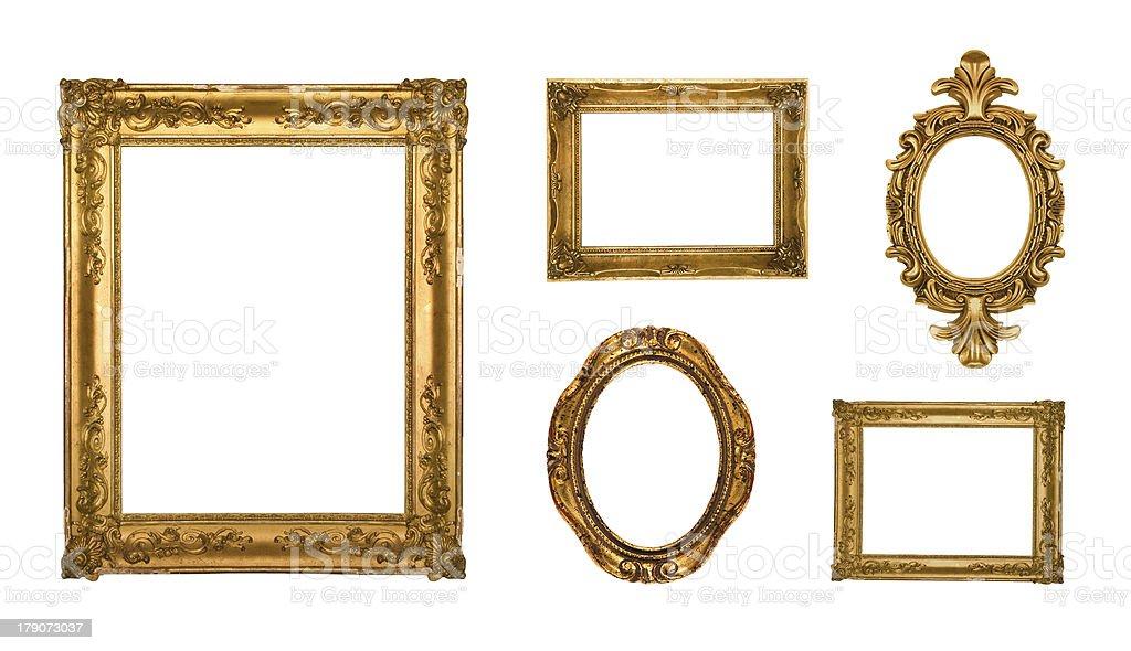 Frames Oro Adornado - Fotografía de stock y más imágenes de ...