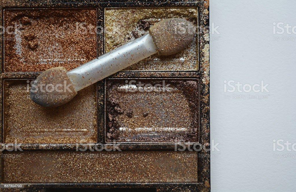 gold paint stock photo