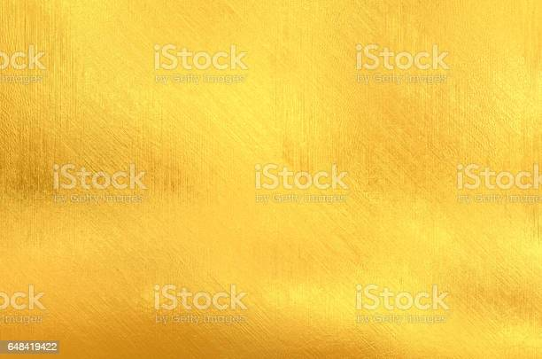 Photo of Gold painted surface