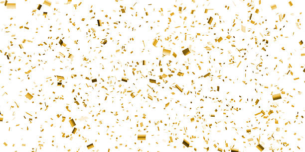 gold confetti falling best confetti stock photos pictures royalty free images 4670