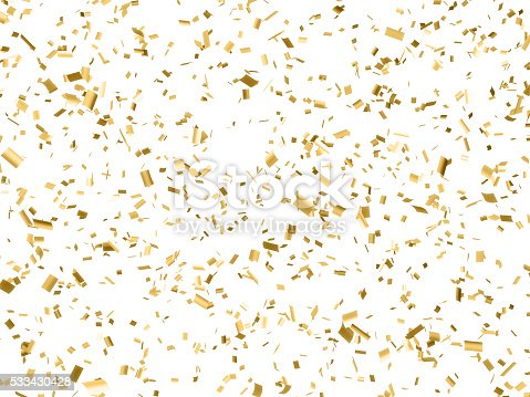 gold confetti falling gold paper confetti falling isolated on white stock photo 7153