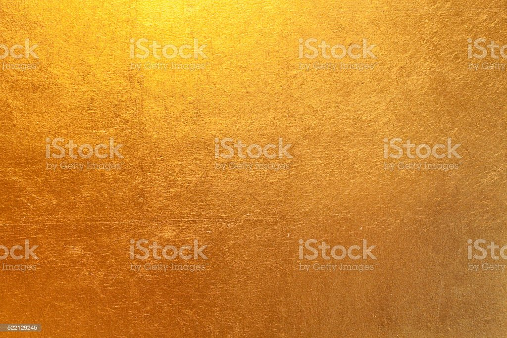 Gold paper stock photo