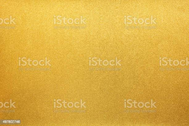 Photo of Gold paper texture background