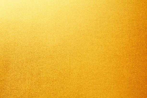 ゴールドの紙テクスチャ背景 ストックフォト