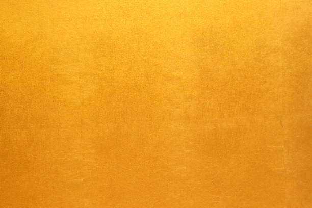 Gold paper texture or background ストックフォト
