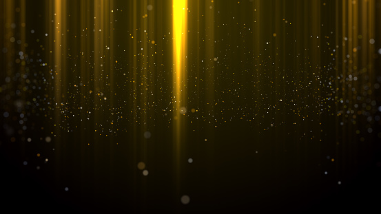 666540036 istock photo Gold Particles light awards background 904124378