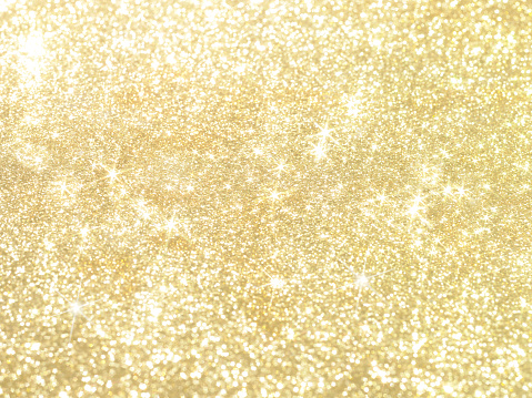 istock Gold pearl sequins, shiny glitter background 2 962086296