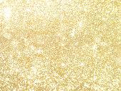 光沢のあるゴールドのパール スパンコール キラキラ背景 2