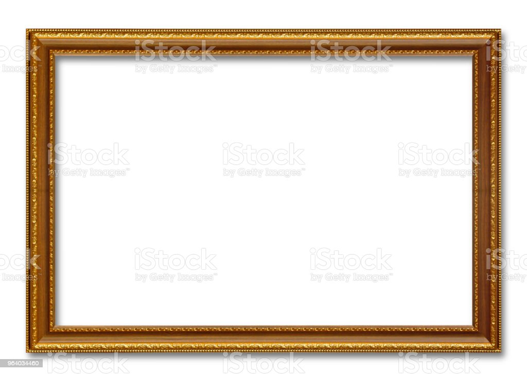 gold picture frame - Royalty-free Antique Stock Photo