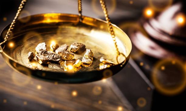 gold. - gold mine stock photos and pictures