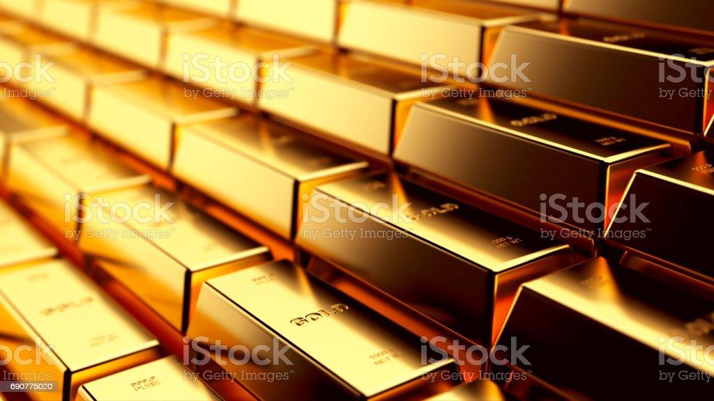 Gold  - foto de acervo