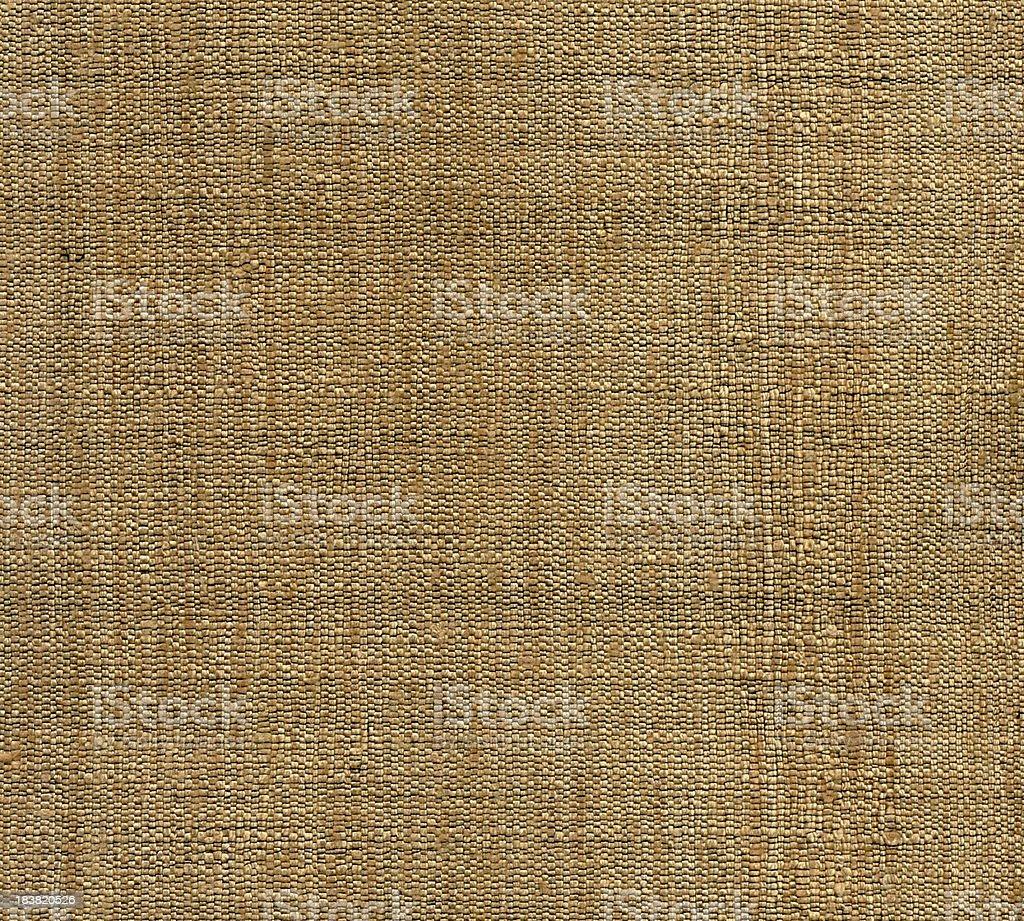 Gold Plaid Pattern Textile royalty-free stock photo